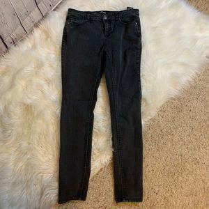 Buffalo David Bitton Black Skinny Jeans, 6/28